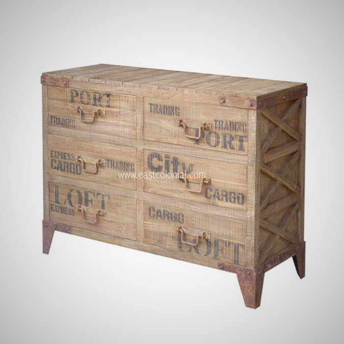 PALETTE CHEST 6 DRAWERS