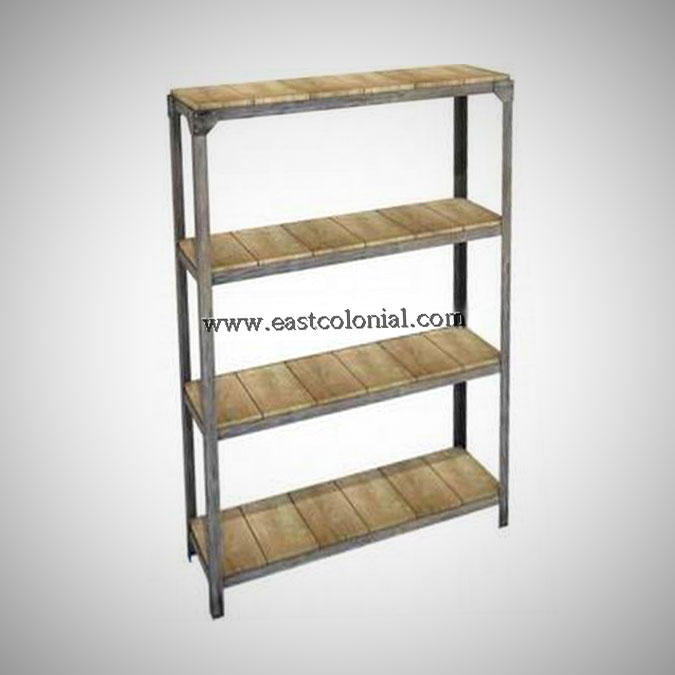 Ferosi Bookshelf Display Rack Vertical