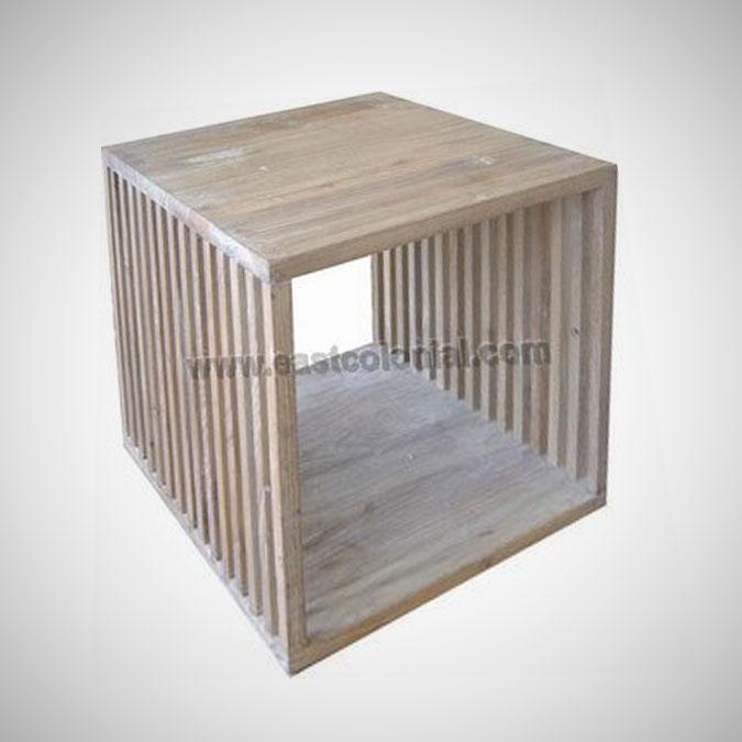 Slat Bathroom Cube