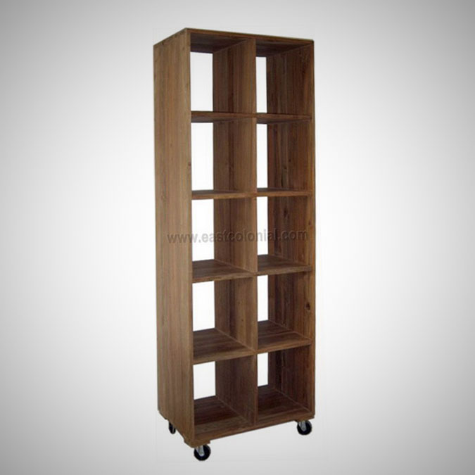 Rohan Display Rack 10 Shelves w wheels