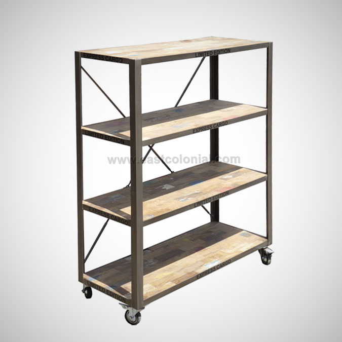 Ferkast Bookshelf C Wheel KD
