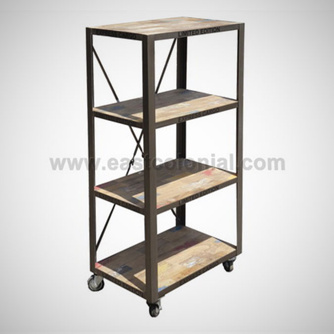 Ferkast Bookshelf B with Wheel KD