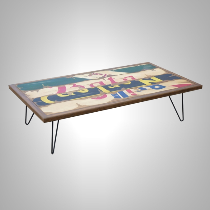 Billboard Rectangular Coffee Table