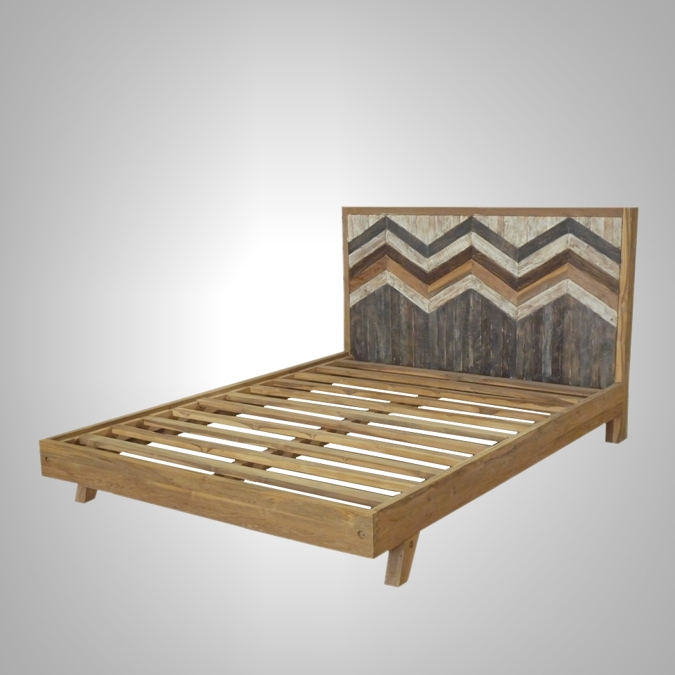 Brux Bed Queen Size