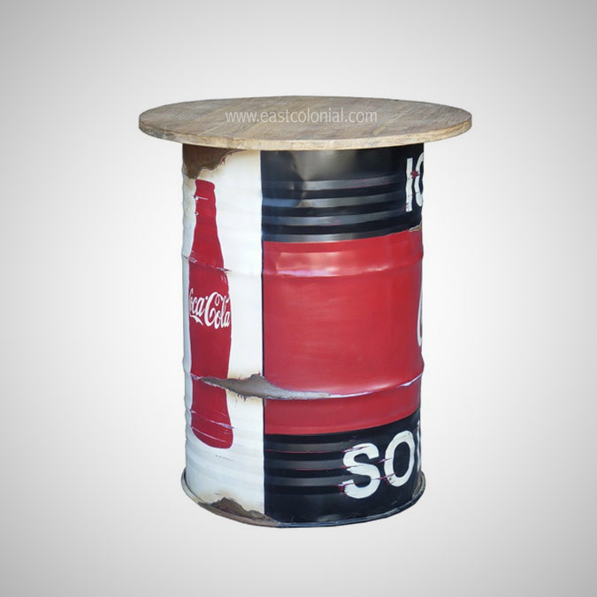 AWR BARREL BAR TABLE ANDY WARHOL