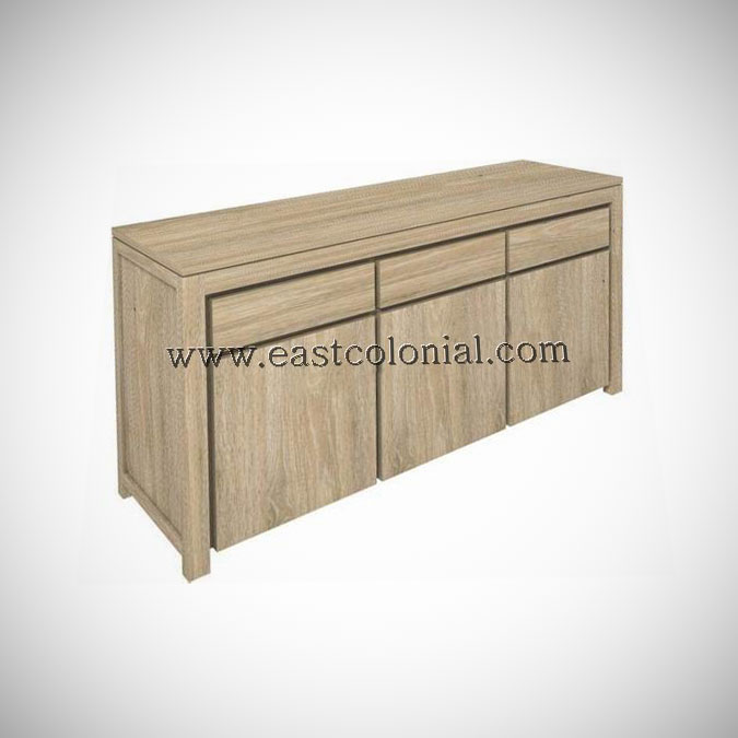 Solo Buffet 3 Doors 3 Drawers