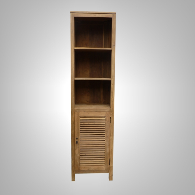 CABINET LOUVRE 1 DOOR OPEN SHELF