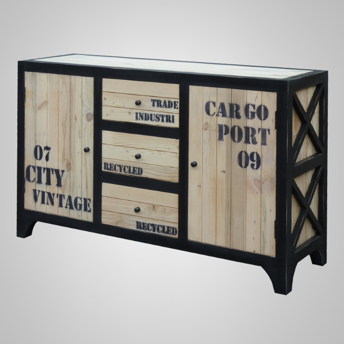 Cargo Chest 2 Doors 3 Drawers