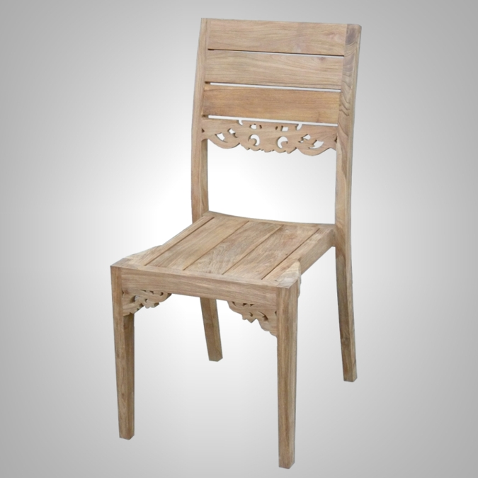 Carving Stacking Chair
