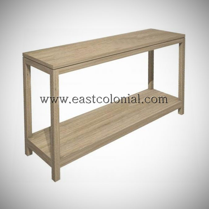 Solo Console Table Medium w Shelf