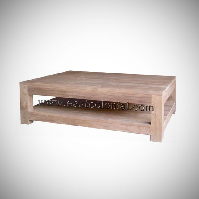 Solo Coffee Table Small-w-Shelf