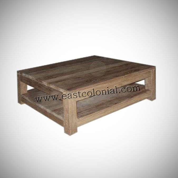Solo Coffee Table-Square Large w Shelf