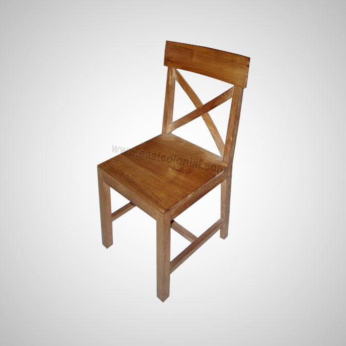 Cross Leg Side Chair