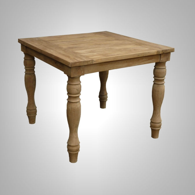 Dining Table Turned Legs