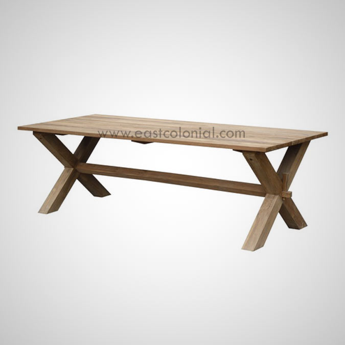 Dining Table Cross Leg Special