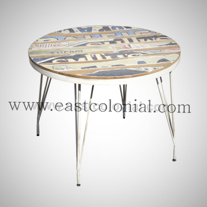 Billboard Dining Table Round Medium