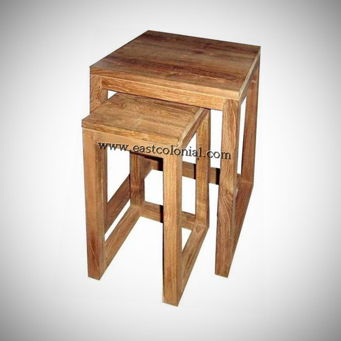 Linear End Table Set of 2
