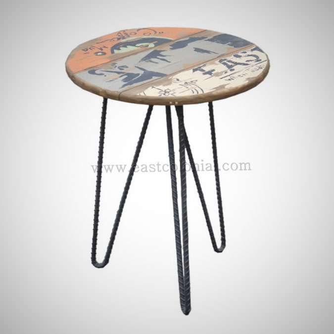Billboard End table