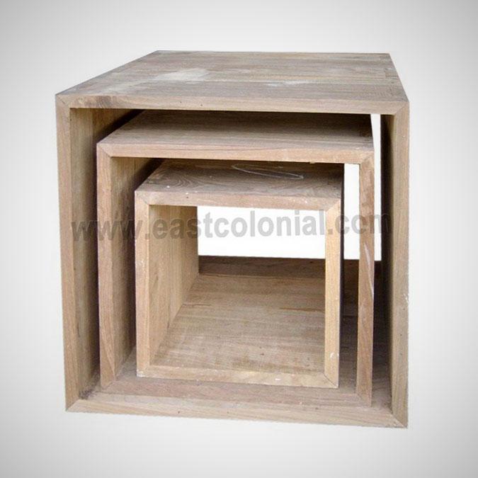 Cubus 4 Sides t=2cm (set of 3)