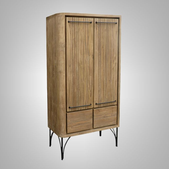 Havana Small Cupboard 2 Doors 2 Drawers