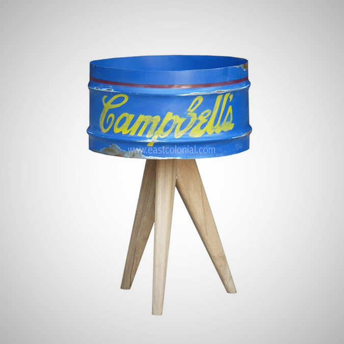BARREL TABLE LAMP ANDY WARHOL