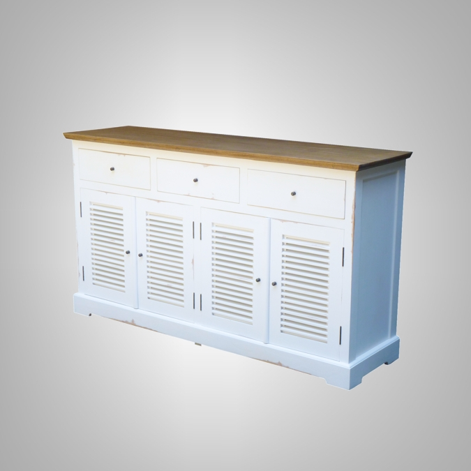 LOUVRE CHEST 4 DOORS + 3 DRAWERS