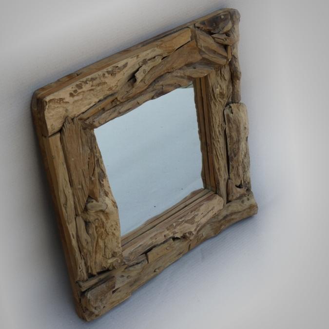 Mirror rustic