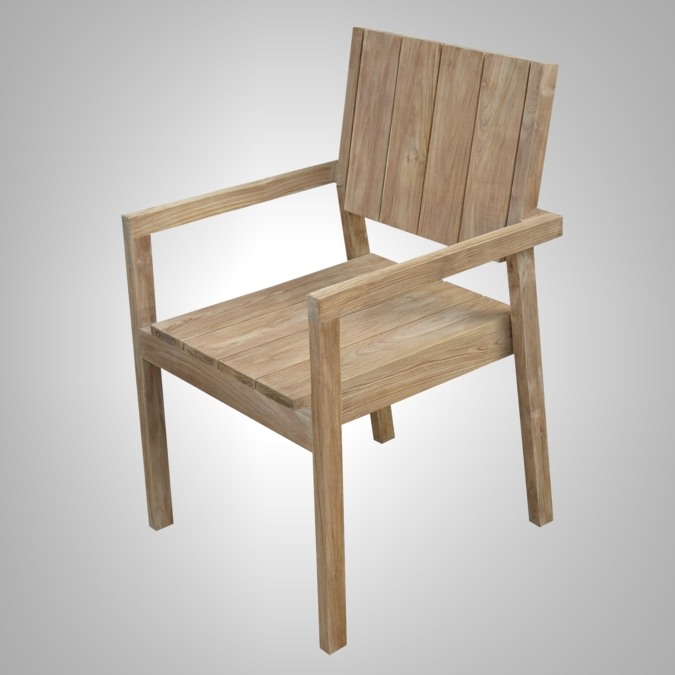 Outdoor Dingklik  Arm Chair