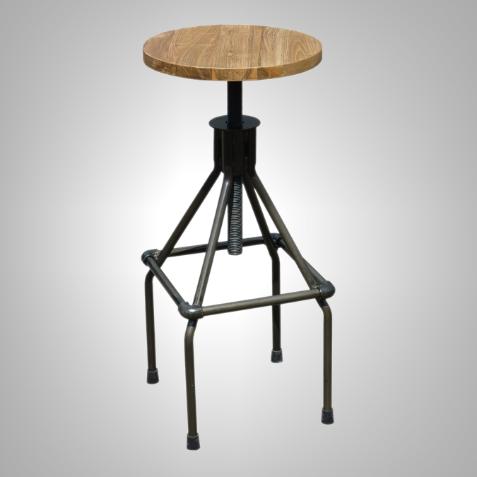 Pipe Bar Stool