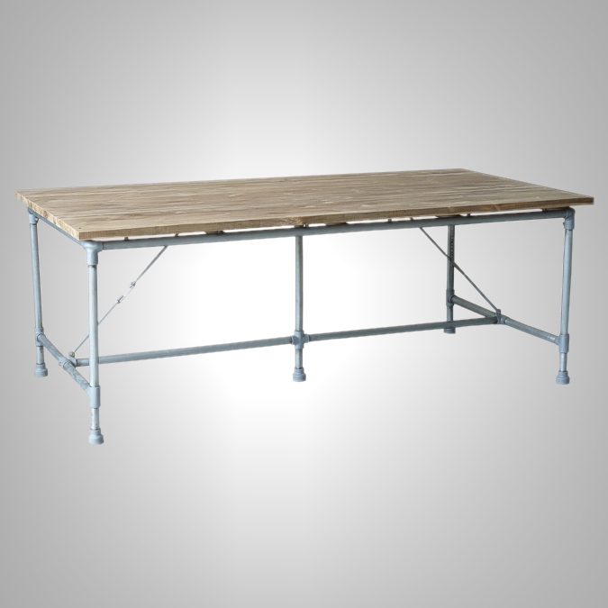 PIPE RECTANGULAR TABLE