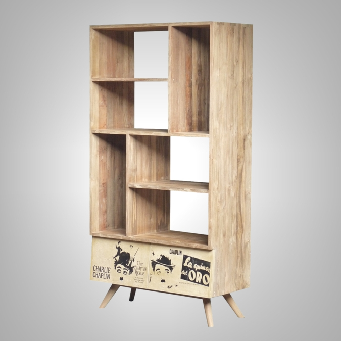 Poster Bookrack 2 Drawers