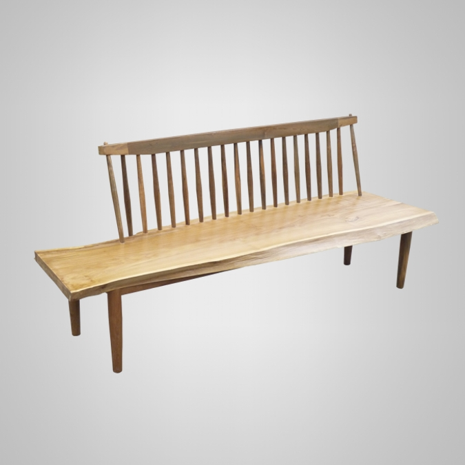 Raw Edge Bench