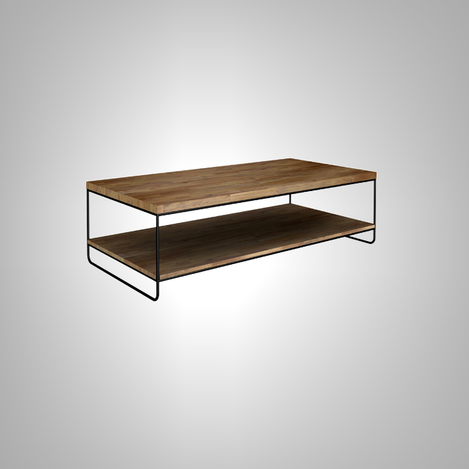 Rectangular Coffee Table 2 Level