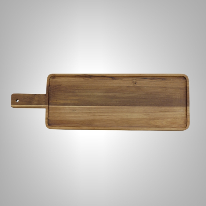 Rectangular Paddle Serving Board