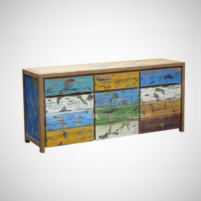 Samudra Chest 3 Doors 3 Drawers