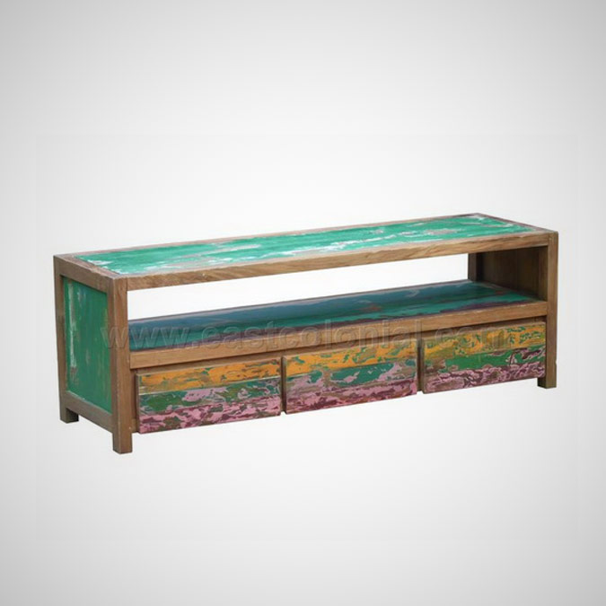 Samudra TV Rack 3 Drawers