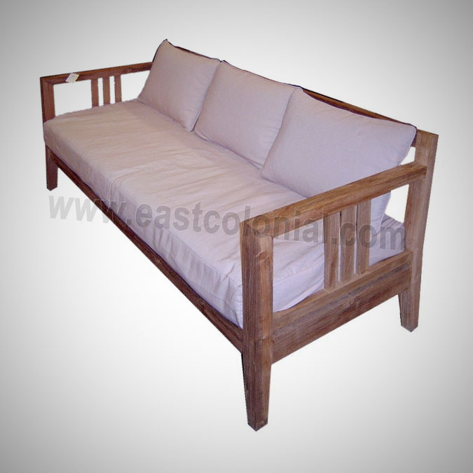 Slat Sofa 3 Seater (incl-cushion)