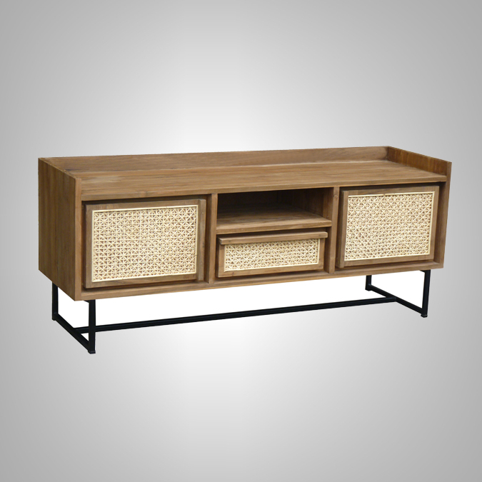 SIDE BOARD TV RACK