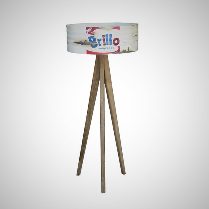 BARREL STANDING LAMP ANDY WARHOL