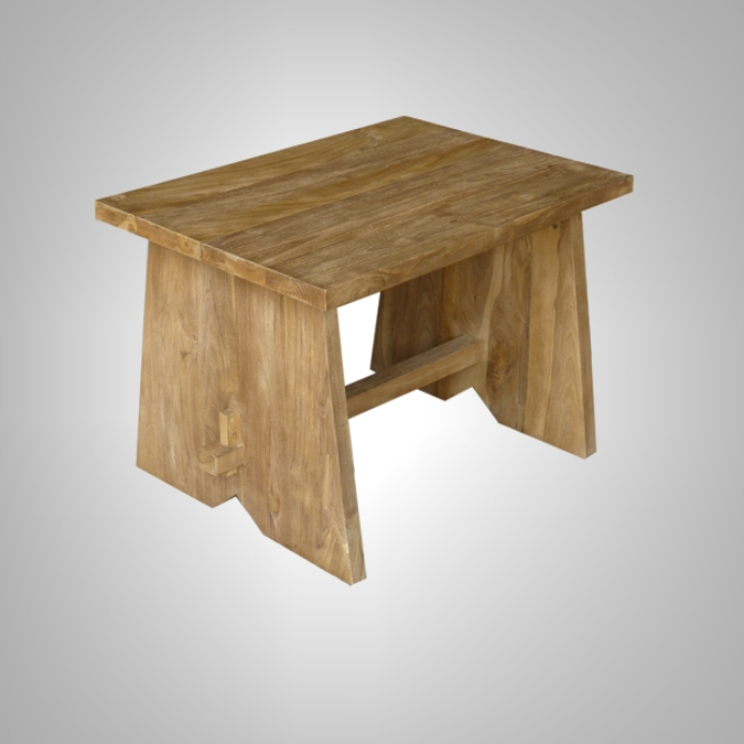 Small Wood Dining Benches