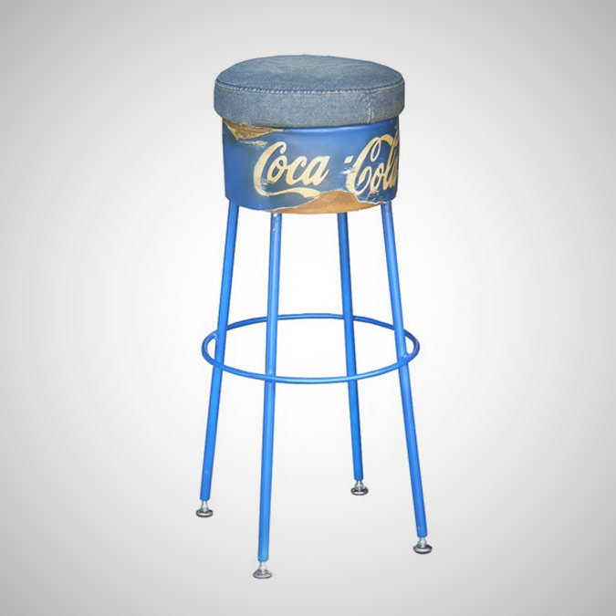 BARREL BARSTOOL ANDY WARHOL