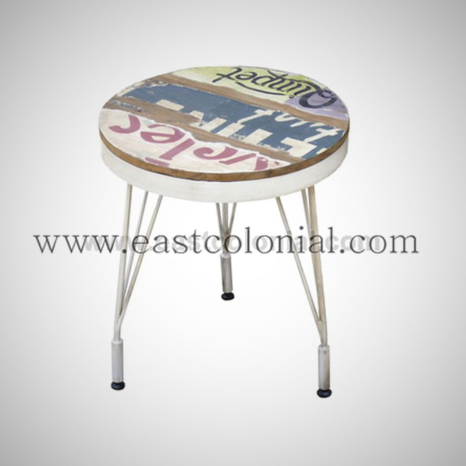 Billboard Stool Round Small
