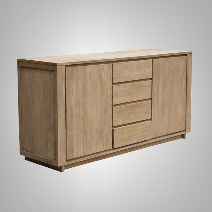 TEMPO CHEST 2 DOORS 4 DRAWERS