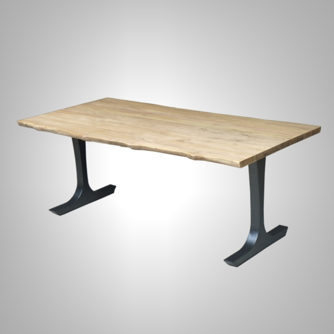Wave Dining Table Iron Leg